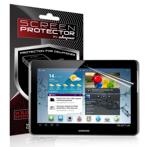 Skque Anti Scratch Screen Protector for Samsung Galaxy Tab 2 10.1 P5100 P5110