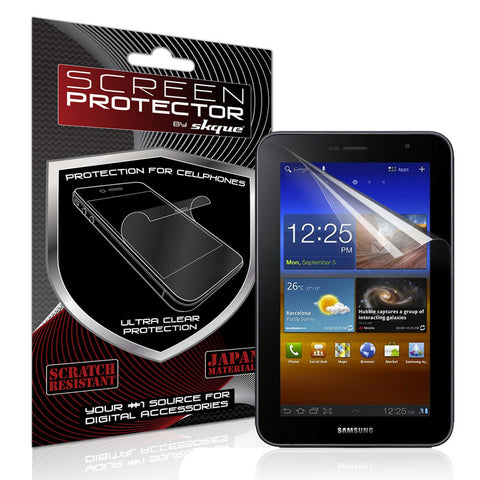 Skque Clear Screen Protector for Samsung Galaxy Tab 7.0 Plus P6210 P6200