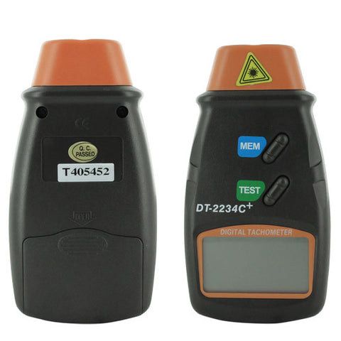 Skque® Handheld Digital Photo Laser Non Contact Tachometer Tester