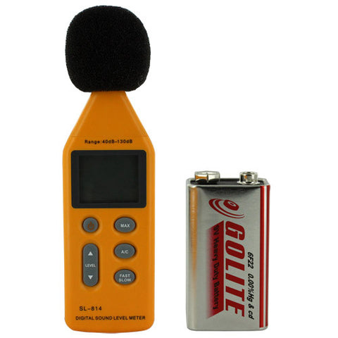 Skque® 40~130dB Digital Sound Noise Level Decibel Meter SL-814?
