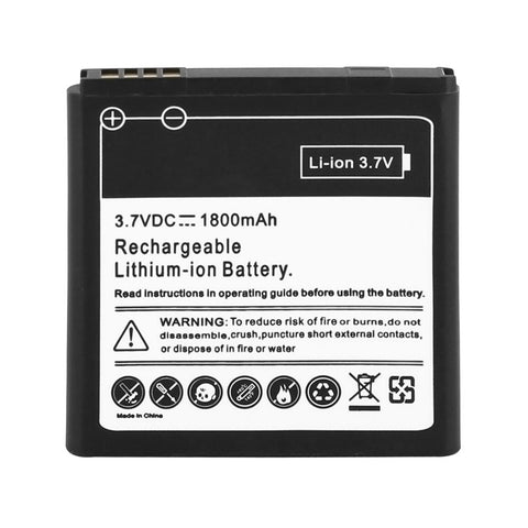 Skque® Replacement 1800mAh Li-ion Battery for HTC Evo 3D