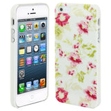 Skque®?Chic Floral Flower Protective Hard Back Case Cover for Apple iPhone 5/5S(Design 9)