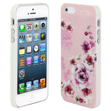 Skque®?Chic Floral Flower Protective Hard Back Case Cover for Apple iPhone 5/5S(Design 14)