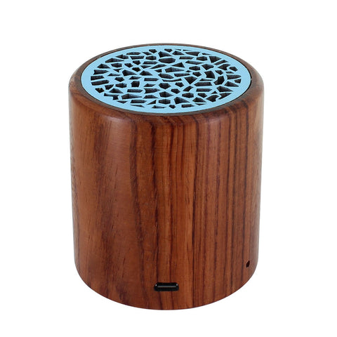 Skque® Portable Mini Wireless Rose Wood Bluetooth Speaker for PC Laptop Cellphone MP3 MP4