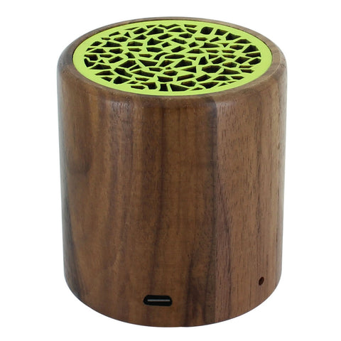 Skque® Portable Mini Wireless Walnut Bluetooth Speaker for PC Laptop Cellphone MP3 MP4