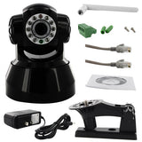 Skque Wireless WIFI CCTV Webcam IP Network Camera IR LED,Black 541W