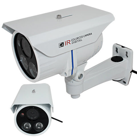 2.0 Megapixel HD Waterproof Outdoor IP Camera (H.264, IR-cut), Euro Power Plug
