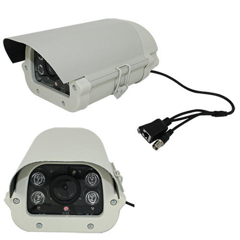 2.0 Megapixel HD Waterproof IP Camera (H.264, 16 Areas Motion Detection), Euro Power Plug