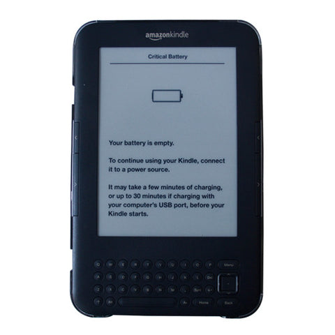Clear Impact Body Armor Snap Shell Case Cover Shield Guard For Amazon Kindle 3