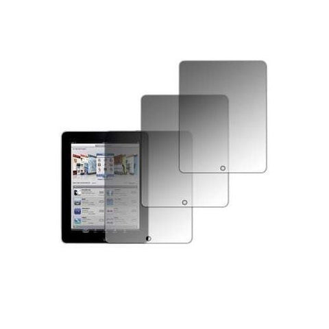 Skque 3 Clear LCD Screen Protector Guard for Apple iPad