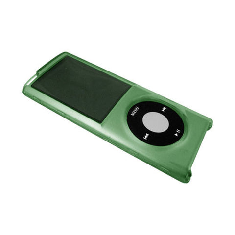 Green Shell Case Snap-On Cover Wrap Anti Scratch Guard Shield For Ipod Nano 4Th