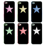 Skque 6 Led Flashing Light Color Case Cover For Apple Iphone 4 4S