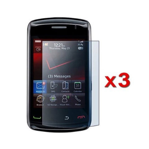 3X Anti Scratch Shield Lcd Armor Screen Protector Guard For Blackberry Storm2 2
