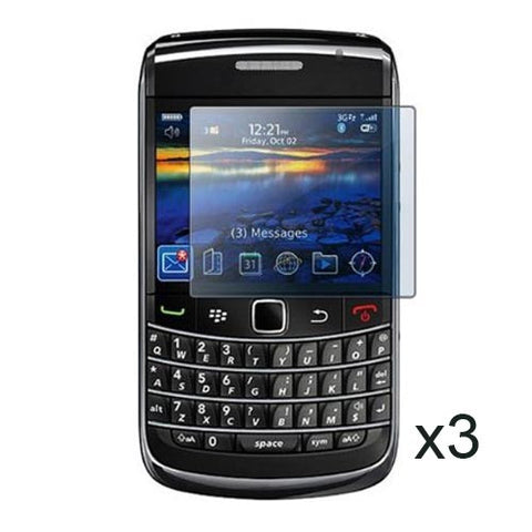 3 Lcd Clear Screen Protector For Blackberry Bold 9700 Anti Scratch Guard Cover