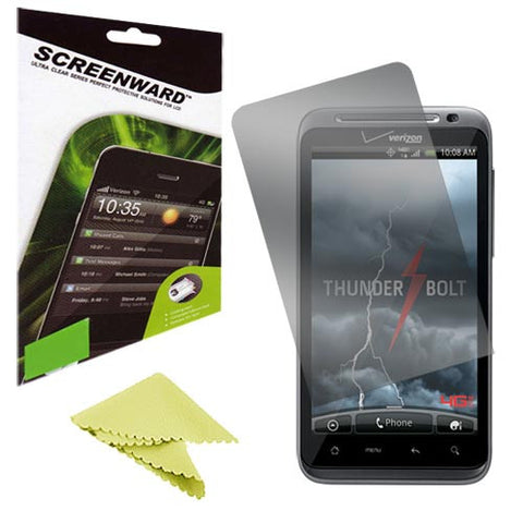 Crystal Lcd Ultra Clear Screen Protector For Htc Thunderbolt (Anti Glare/Matte)