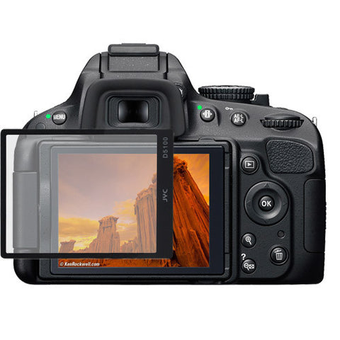 Tough Durable Tempered Glass Lcd Screen Protector For Nikon D5100