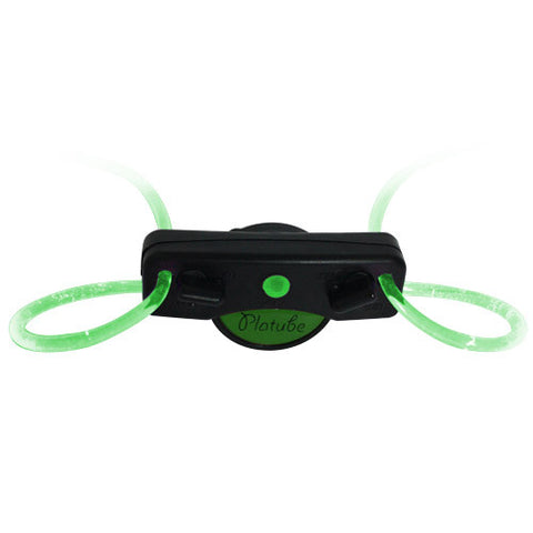 Green Led Shoelace Party Rave Light-Up Flashing Blinking Led Tube Light