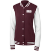 Boston Bred Women's Fleece Letterman Jacket