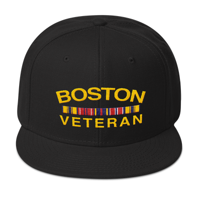 Boston Veteran Snapback Hat
