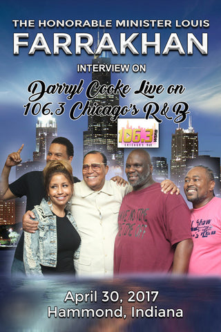 Chicago 106.3 Radio Interview with Minister Louis Farrakhan