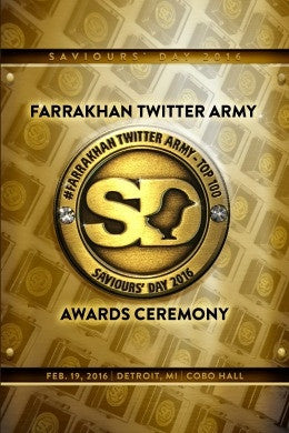 Saviours' Day 2016: Farrakhan Twitter Army Awards Ceremony