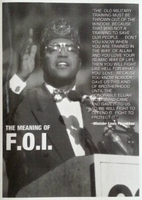 The Meaning of The F.O.I.
