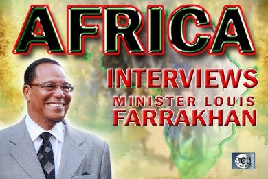 Africa Interviews Minister Louis Farrakhan (CD Pack)