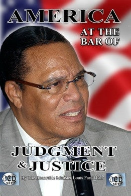 America: At the Bar of Judgement & Justice (CDPACK)