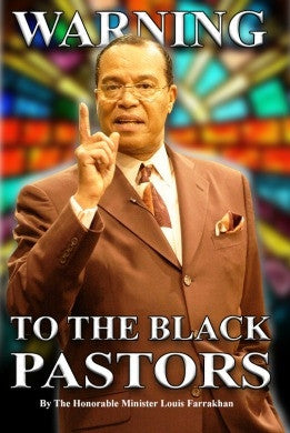 Warning to The Black Pastors (CD Package)