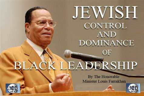 Jewish Control and Dominance Of Black Leaders (CD)