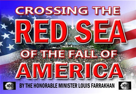 Crossing The Red Sea Of The Fall Of America
