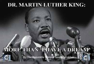 "Dr. Martin Luther King Jr - More Than ""I Have a Dream"" (CDPACK)"