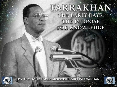 Farrakhan-The Early Days Vol. 8: The Purpose For Knowledge (CDPACK)
