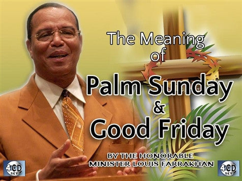 The Meaning Of Palm Sunday & Good Friday (CD)
