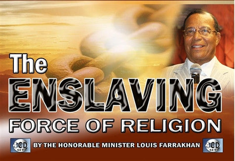 The Enslaving Force Of Religion (CDPACK)