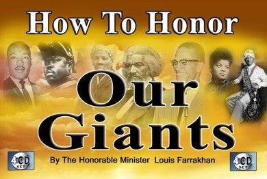 How to Honor Our Giants (CD Package)