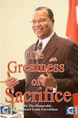The Greatness of Sacrifice (CD)