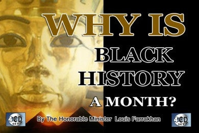Why is Black History a Month (CD Package)