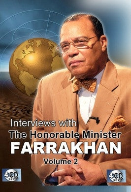 Interviews With The Honorable Minister Louis Farrakhan Vol. 2 (CD)