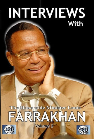 Interviews With The Honorable Minister Louis Farrakhan Vol. 3 (CD)