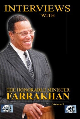 Interviews With The Honorable Minister Louis Farrakhan Vol. 5 (CD)