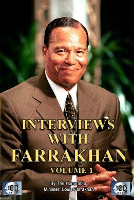 Interviews With The Honorable Minister Louis Farrakhan Vol. 1 (CD)