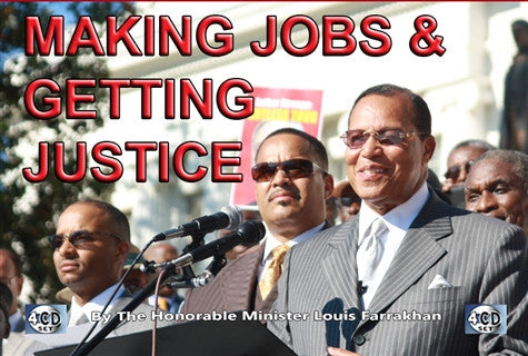 MAKING JOBS AND GETTING JUSTICE