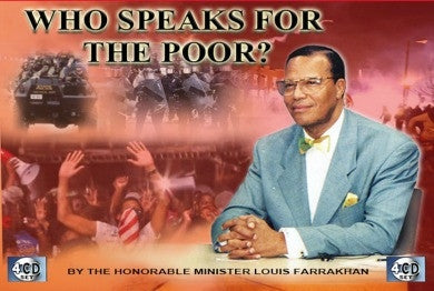 Who Speaks For The Poor? (CDPACK)