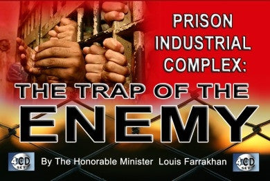 Prison Industrial Complex: The Trap of The Enemy (CDPACK)