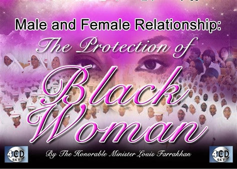 Male & Female Relationship: The Protection Of Black Woman (CDPACK)