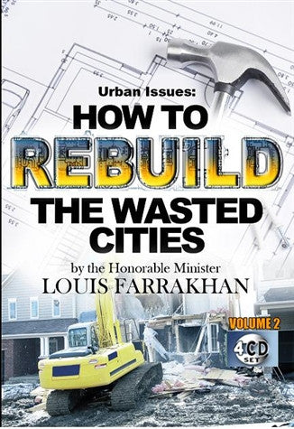 How To Rebuild The Wasted Citites Vol. 2 (CDPACK)