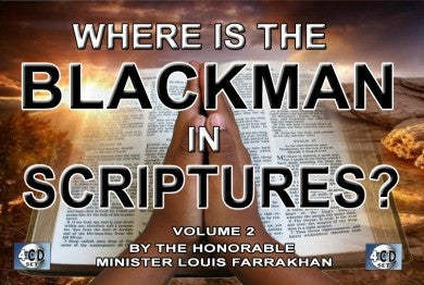 Where is The Black Man in Scripture? Vol. 2 (CD Package)