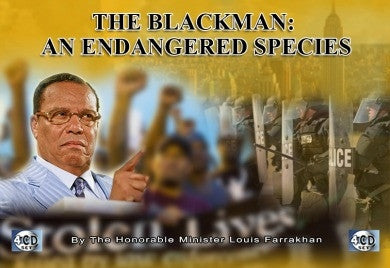 The Blackman: An Endangered Species (CD Package)