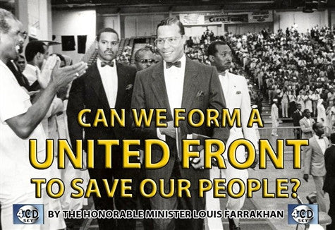 Can We Form A United Front To Save Our People? (CD)
